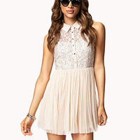 Fit & Flare Tulle Dress