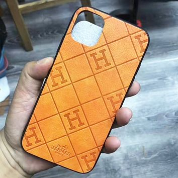 Hermes iPhone Phone Cover Case For iphone 6 6s 6plus 6s-plus 7 7plus 8 8plus iPhone 11 iPhone X XR XS XS MAX PRO MAX