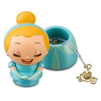 Kidada for Disney Store Wish-a-Little Cinderella Figure with Charm Necklace | Jewelry | Women | Disney Store