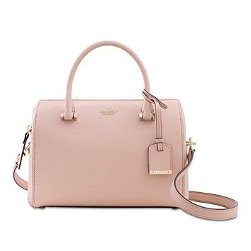 Kate Spade New York Cameron Street Women's Large Lane Satchel (Warm Vellum)