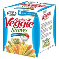 Sensible Portions Zesty Ranch Garden Veggie Straws, 1 oz, 6 count - Walmart.com