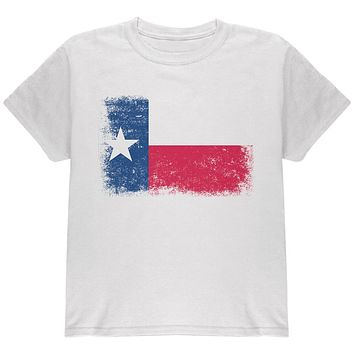 Born and Raised Texas State Flag Youth T Shirt
