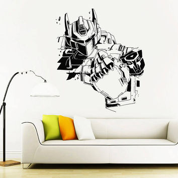 Transformers Wall Decal,Prime Wall Sticker,Bumblebee wall decal,Kids Wall sticker,Bedroom Wall Sticker,Nursery wall decal kau 270