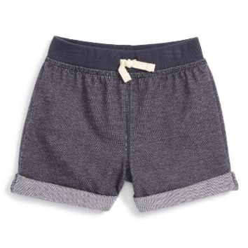 Tea Collection Cuffed Knit Shorts (Toddler Girls, Little Girls & Big Girls) | Nordstrom