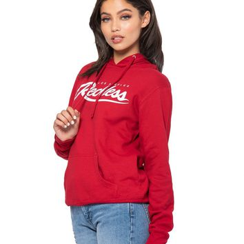 Big R Script Jr Hoodie - Red/White