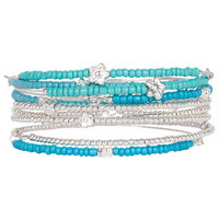 Mixed Multi Bangle Set