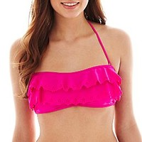 Arizona Ruffled Bandeau Bra Swim Top