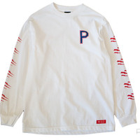 Purist — Bolts Longsleeve - White