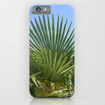 Palm tree and sky iPhone & iPod Case by ArtGenerations