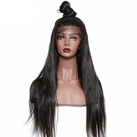 Women Straight Hair Natural Black Color