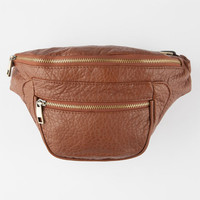 Under One Sky Faux Leather Fanny Pack Cognac One Size For Women 24920640901