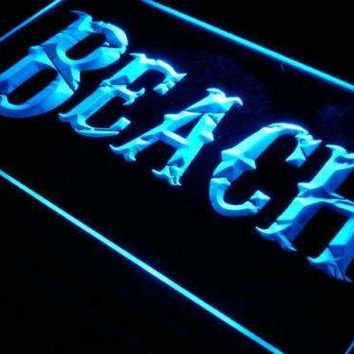 Beach House Decor Neon Sign (LED)
