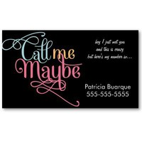 Call me Maybe Fancy Girly from Zazzle.com