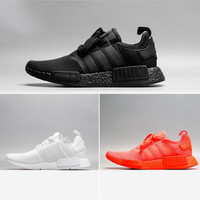 Adidas NMD Trending Leisure Running Sports Shoes pure white