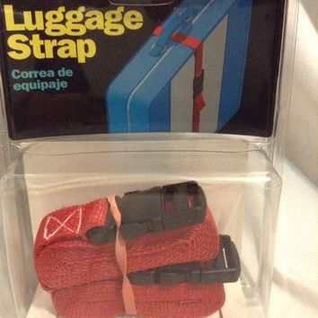 Keeper LUGGAGE STRAP ADJUSTABLE SECURING Release Buckle 6FT TRAVEL