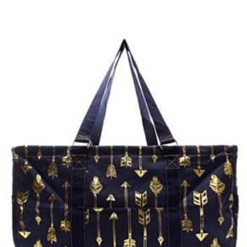 Utility Tote Large - Arrow Print