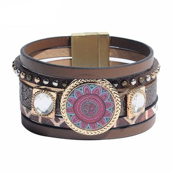 Fashionable Stylish Leather bracelet