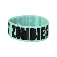 Support Zombies Glow-In-The-Dark Rubber Bracelet - 148968