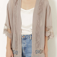 Lace Detail Kimono - New In This Week - New In - Topshop USA