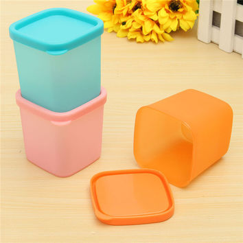NEW 1pc Mini 230ml Multi-functional Sealed Refrigerator Crisper Plastic Box Bin Kitchen Sorting Food Storage Preservation Boxes