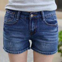 Denim Shorts Female Short Jeans For Women 2017 Summer Ladies Shorts