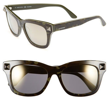 'Rockstud' 53mm Retro Sunglasses