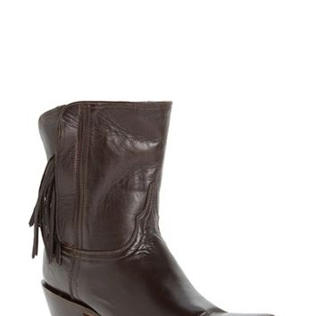 Women's Lucchese 'Flannery' Fringe Boot,