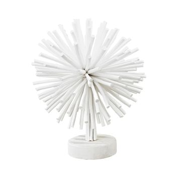 Jusco Wooden Array Sculpture White