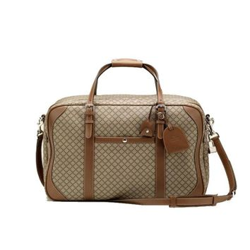 Gucci Diamante Carry-On Travel Luggage Beige/Brown 267905
