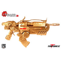 Locust Hammerburst II Gears of War 3 TriForce Full Scale Weapon (Gold Edition)