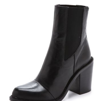 Luxury Rebel Shoes Martha Chelsea Heeled Booties