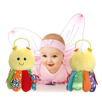 Baby Toys Rattles For Children Newborn Infant Cute Animal Octopus Hand bell Teether Bell Educational Toys for Kids