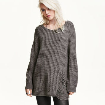 H&M Rib-knit Sweater $34.99