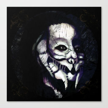 Prowler Canvas Print by Moonlit Emporium