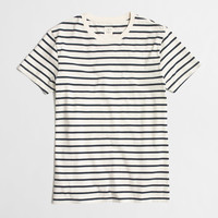 Factory slim deck-striped T-shirt