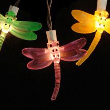 Garden Lights - Dragonflies