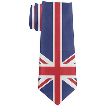 British Flag Union Jack All Over Neck Tie