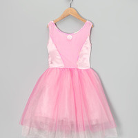 Pink Sequin Princess Dress - Toddler & Girls | zulily