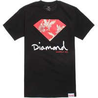 Diamond Supply Co Chill Floral T-Shirt - Mens Tee