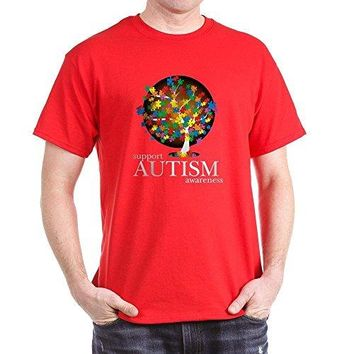 Support Autism Awareness Tree - Mother, Dad, Family T-Shirt
