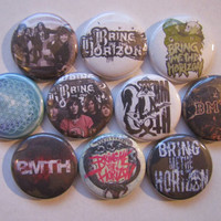 Bring Me The Horizon BMTH Pinback Buttons Badges Pins (pack of 10)