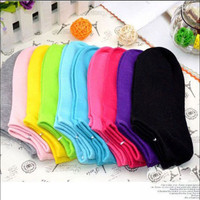 Unisex Socks Candy Color Ankle Ship Sock Sports Crew Low Cut Stealth Socks POP