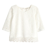 Lace Top - from H&M