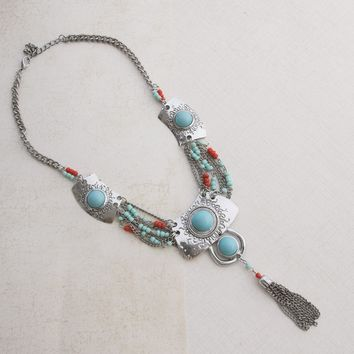 Native Pride Silver Necklace