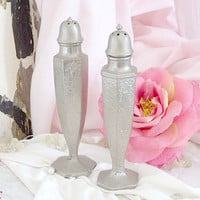 BF1634 - Pair of French Style Silverplate Salt & Pepper Shakers - $35 - The Bella Cottage