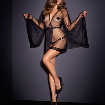 View All Lingerie by Agent Provocateur - Di-Di Kimono