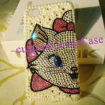 iPhone 4 Case, iPhone 5 Case Cute Phone Case iPhone 4s Bling iPhone Cover iPhone4 Case swarovski Crystal Galaxy s4 Case Galaxy s3 Case ipod4