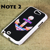 Retro Anchor Samsung Galaxy Note 2 Hard Case