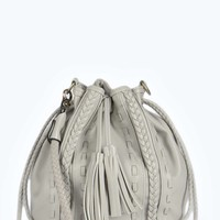 Kendal Plaited Tassel Duffle Bag