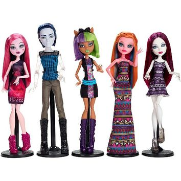 Monster High Maul Monsteristas Deluxe Doll 5-Pack